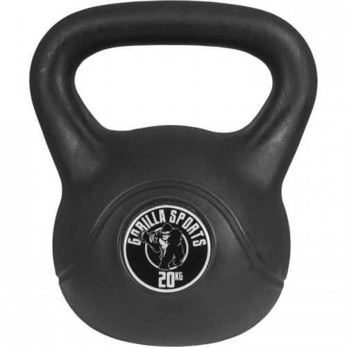 Gorilla Sports Cementový kettle-bell 2-20 kg